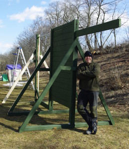 How to Build an Obstacle Wall for Obstacle Racing and Mud Run Training