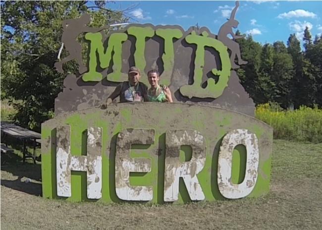 Mud Hero Sign