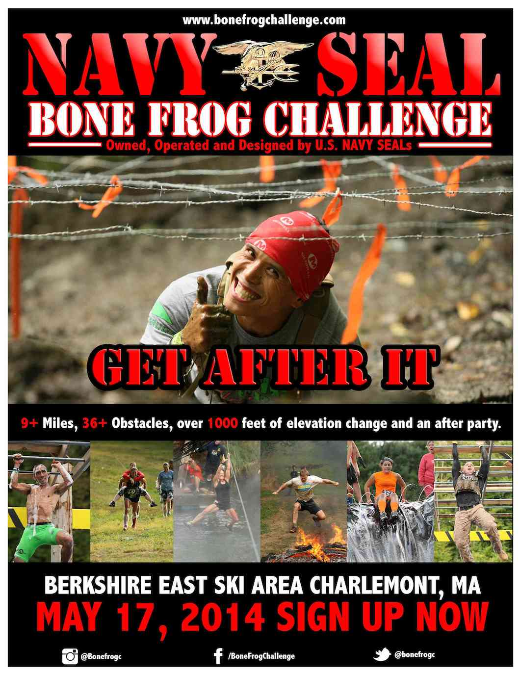 Bone Frog Challenge flyer