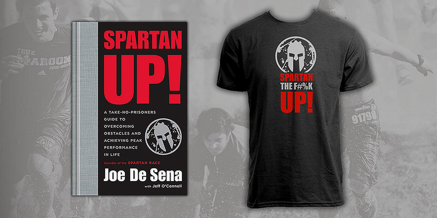 Limited Edition Spartan Up! T-Shirt w/Amazon Pre-order of Spartan ...