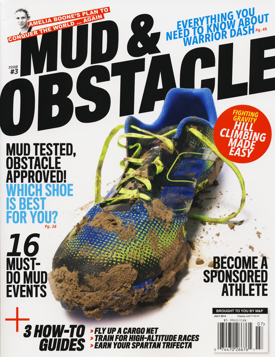 Read the full story in the July 2014 issue of Mud & Obstacle.