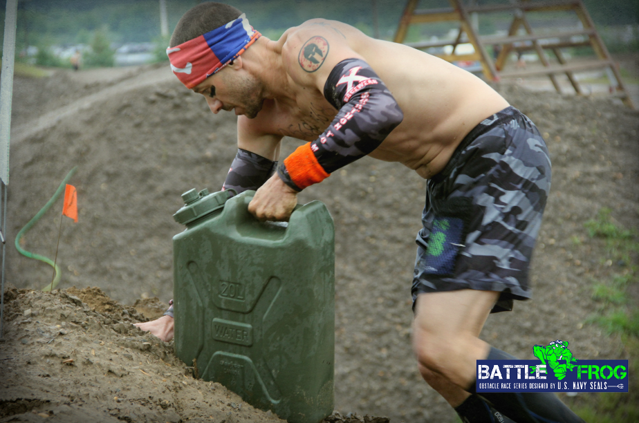 BattleFrog jerry can