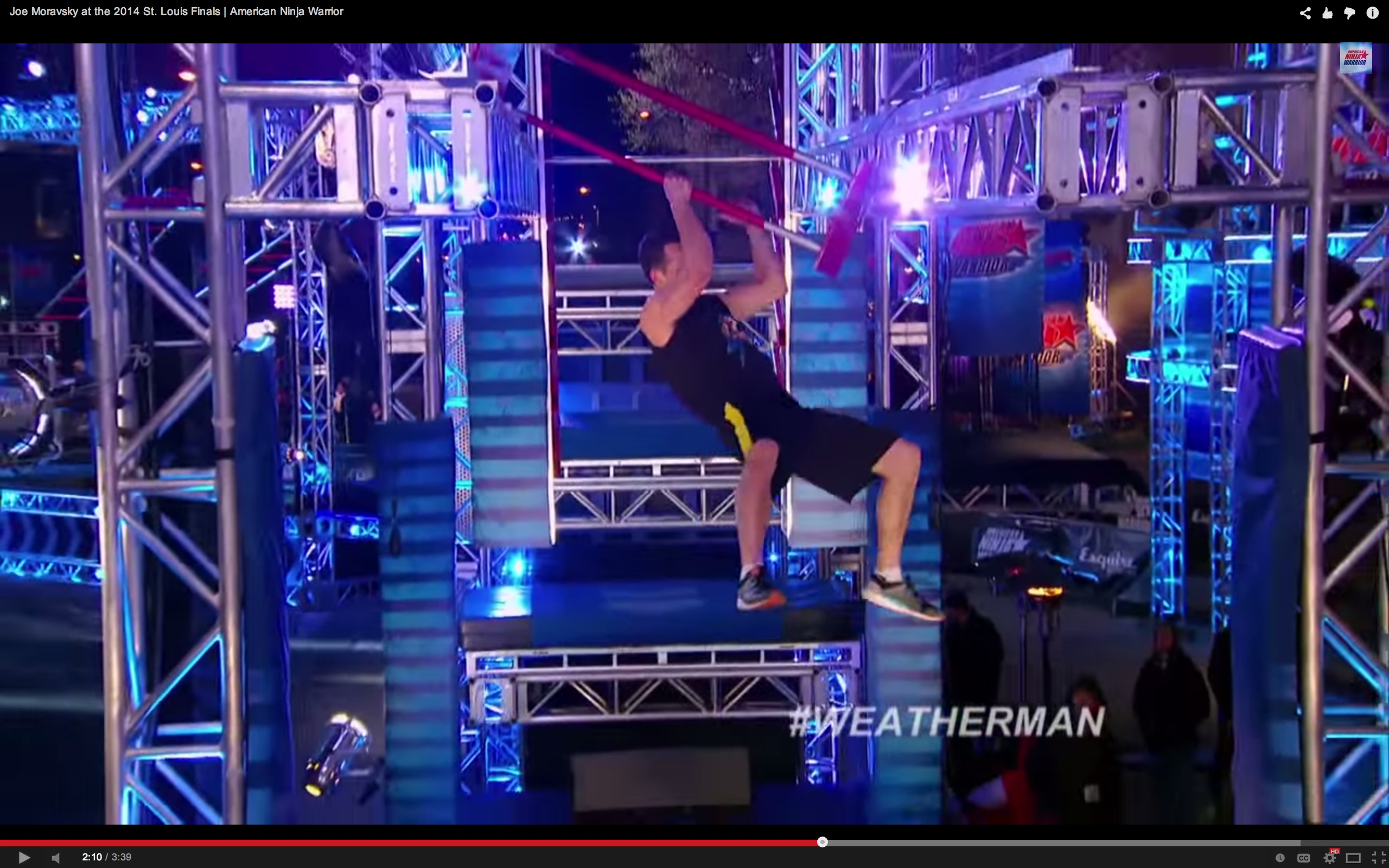 how to make a american ninja warrior course