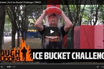 Tough Mudder ice bucket challenge
