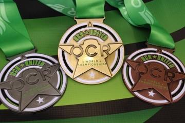 OCR World Championships medals