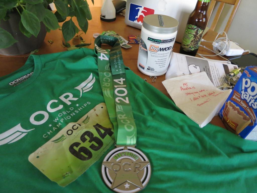 OCR World Champioships medal