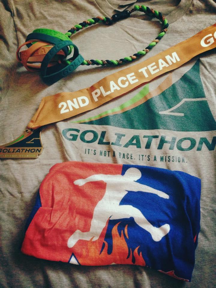 Goliathon obstacle race team M+A