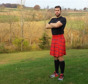 J Walking Designs Running Kilt