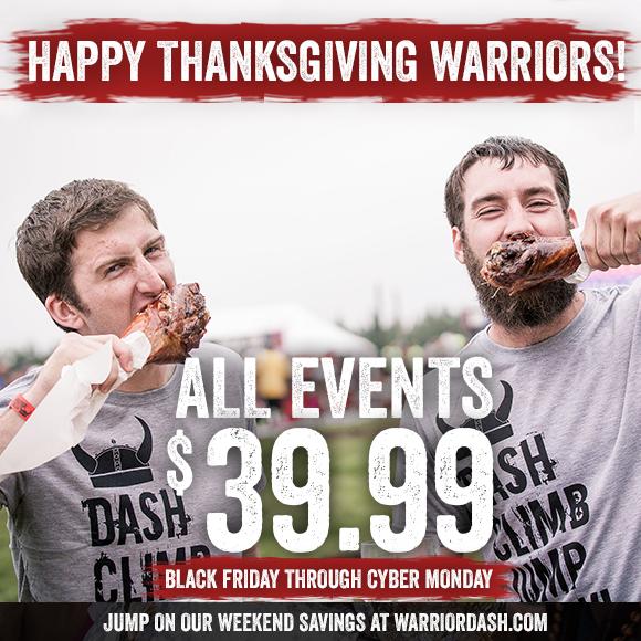 Warrior Dash Discount