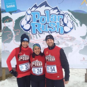 Polar Rush Linda, Cliff and Me