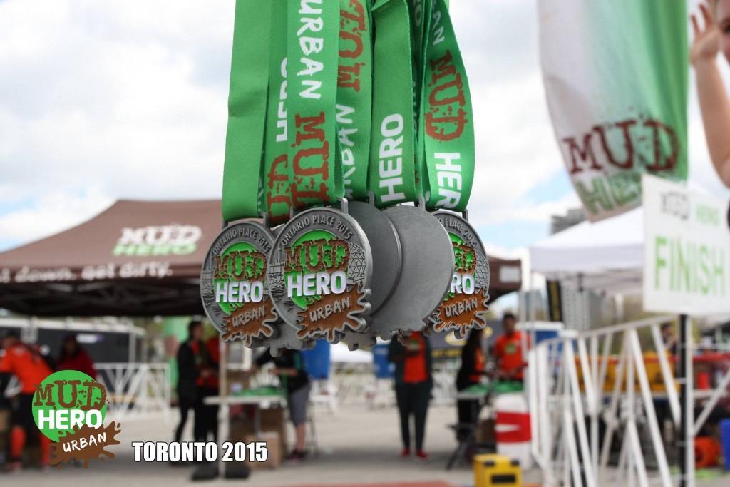 Mud Hero Urban medals
